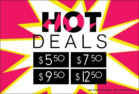 HOT DEALS - Summer Sale at Papaya