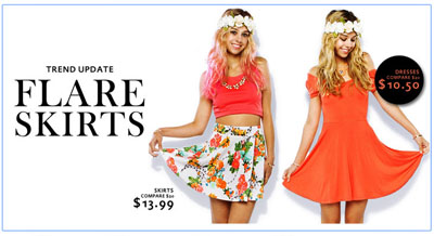 Dresses Starting at $10.50 at Papaya