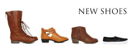 New Fall Shoes at Papaya
