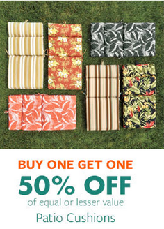 shop in store and buy one get one 50 off patio cushions - Big Lots Patio Cushions