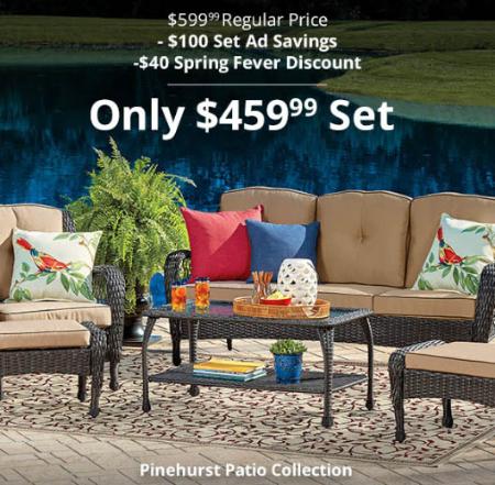$459.99 Pinehurst Patio Collection
