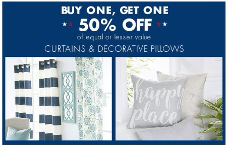 Reisterstown Road Plaza BOGO 40% Off Curtains Decorative Magnificent Big Lots Decorative Pillows