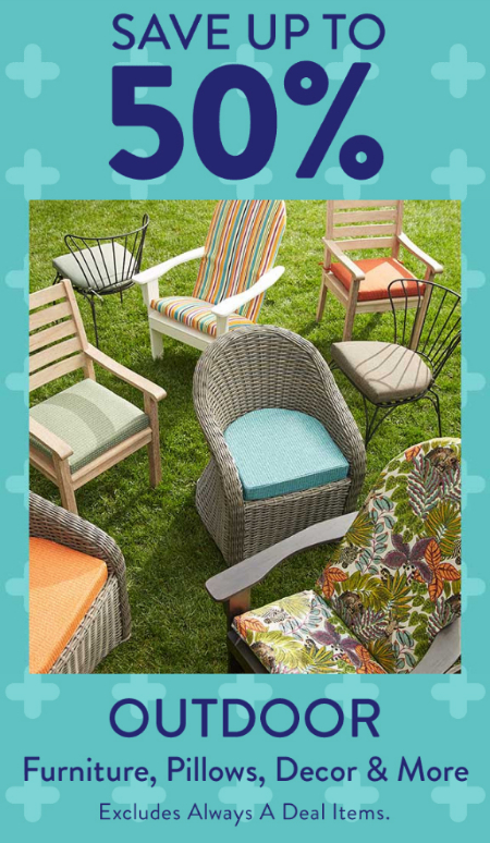 Cost Plus World Market Save Up To 50 On Outdoor Furniture Pillows