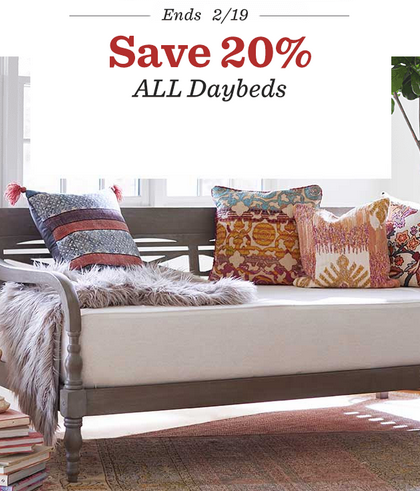 Save 20 On All Daybeds