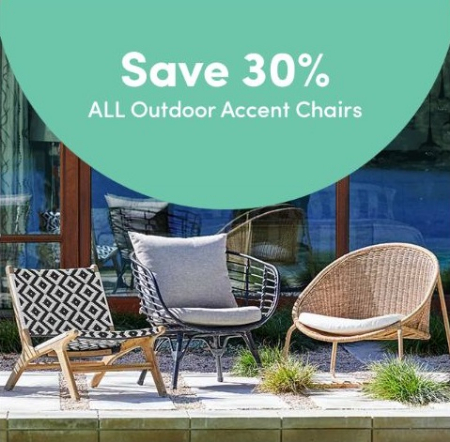 Exceptionnel Cost Plus World Market | 30% Off All Outdoor Accent Chairs