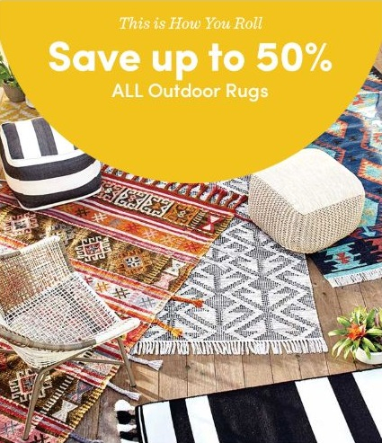 The Rim Shopping Center Up To 50 Off All Outdoor Rugs At Cost