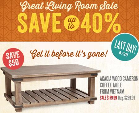 Great Living Room Sale