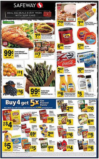 Weekly Specials! at Safeway