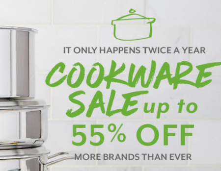 Up to 55% Off Cookware Sale at Sur La Table