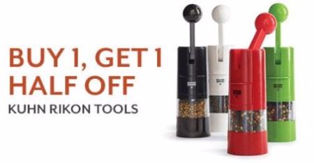 BOGO 50% Off Kuhn Rikon Tools