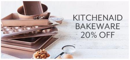 20% Off KitchenAid Bakeware at Sur La Table