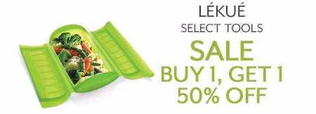 BOGO 50% Off Select Lékué Tools