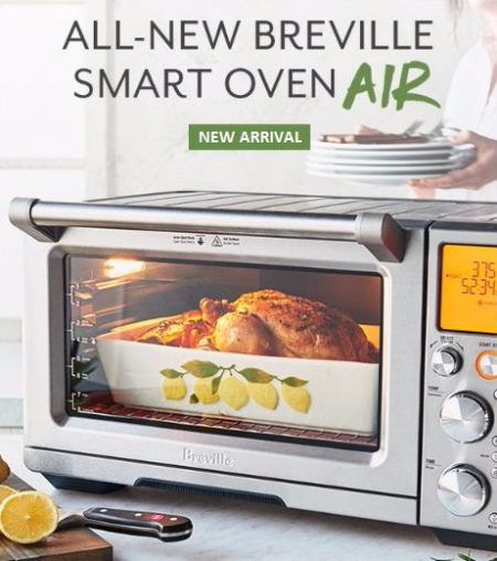 Announcing the All-New Breville Smart Oven Air at Sur La Table