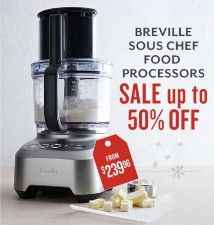 Breville Food Processors Sale