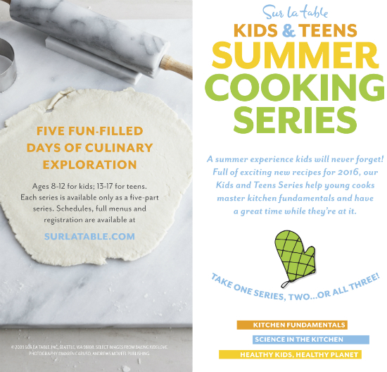 Kids & Teens Summer Cooking Series