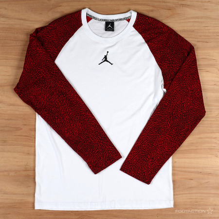 Get the New Jordan Elephant Print Raglan at Footaction