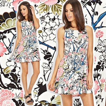 Print of the week: Floral Botanical Gardens at Forever 21