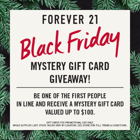 BLACK FRIDAY MYSTERY GIFT CARD GIVEAWAY!