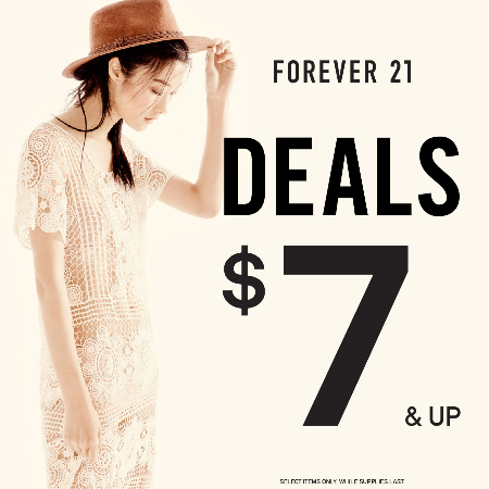 SHOP SPRING BREAK DEALS at Forever 21