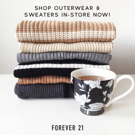 Outerwear & Sweaters at Forever 21
