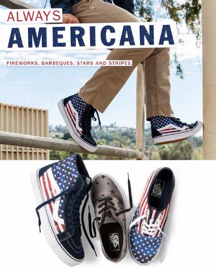 New Americana Patterns