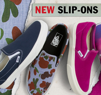 Have You Seen the New Slip-Ons?