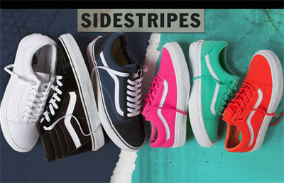 Vans Iconic Sidestripe at Vans